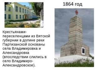 Крестьянами-переселенцами из Вятской губернии в долине реки Партизанской осно