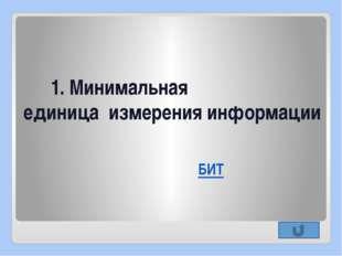 2. Буфер обмена это… Раздел оперативной памяти (временное хранилище)
