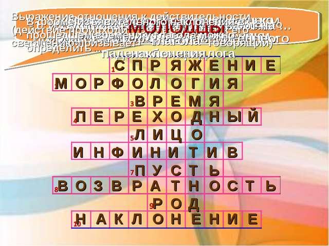 П С Я Р Ж Е Н И Е М 1. Изменение глаголов по лицам и числам Ф Р О О Л О Г 2....