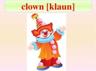 clown [klaun]