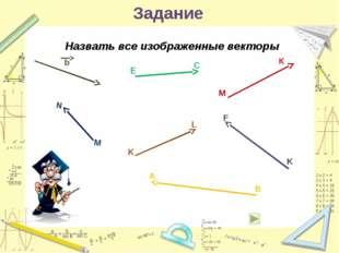 РАВЕНСТВО ВЕКТОРОВ Векторы называются равными, если они сонаправлены и их дли