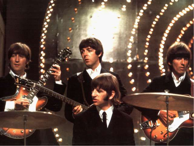 The Beatles «beat» аккорд, удар «beetles» жуки