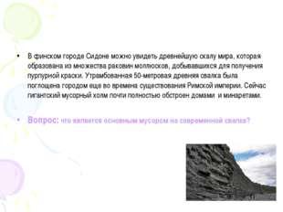 В финском городе Сидоне можно увидеть древнейшую скалу мира, которая образова