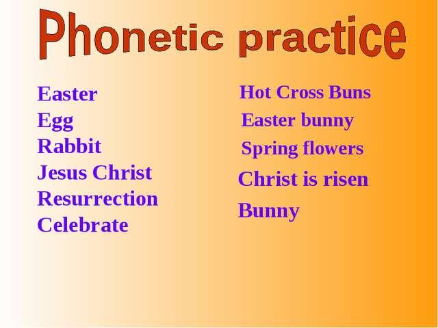 Easter Egg Rabbit Jesus Christ Resurrection Celebrate Hot Cross Buns Easter...