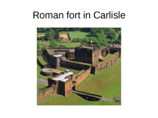 Roman fort in Carlisle