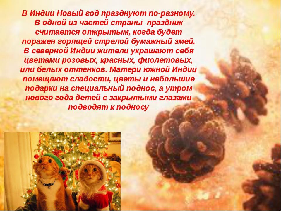 В Индии Новый год празднуют по-разному. В одной из частей страны праздник сч...