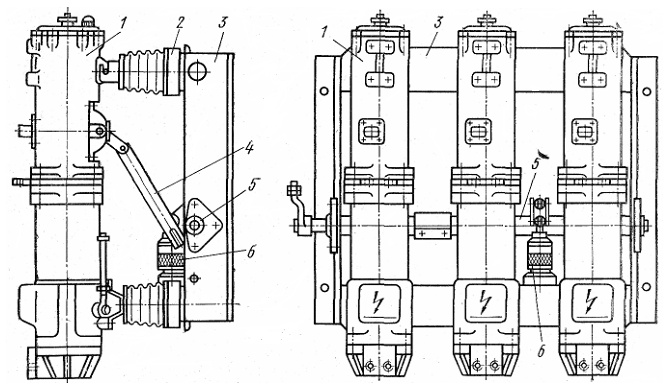 Маломасляный выключатель ВМП-10