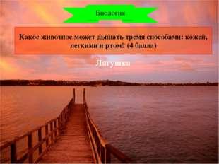 Уникальное озеро нашей страны. (2 балла) Естествознание Байкал
