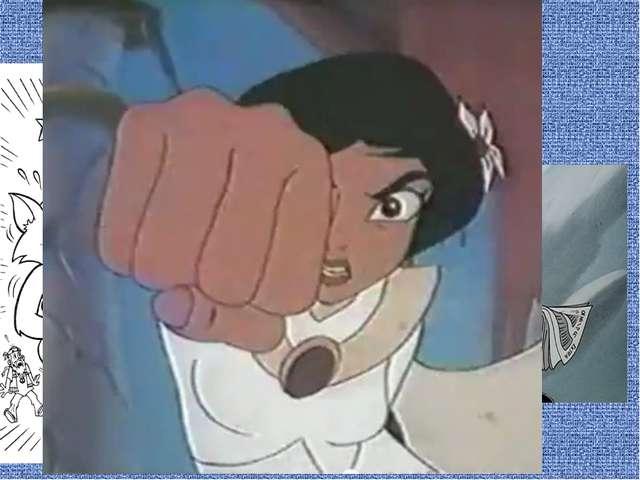 А так же герои мультфильмов получают по голове падающими наковальнями, разноо...