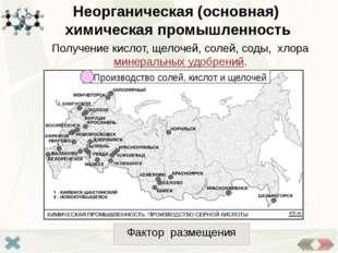 Сырьевой Горно-химическая промышленность Отрасль горной промышленности, заним