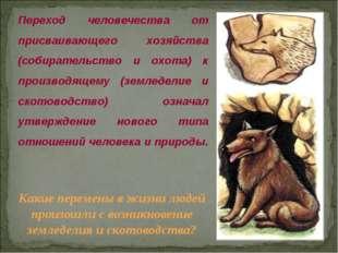 © Жадаев Д.Н., 2005 Переход человечества от присваивающего хозяйства (собират