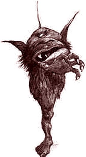 Фахан, Шотландская мифология
