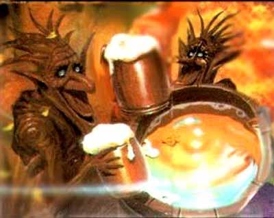 Тролли, Английская мифология