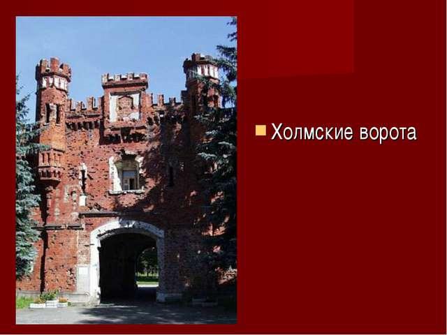 Холмские ворота
