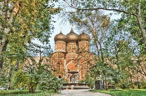 Измайловский остров.Покровский собор, XVII век