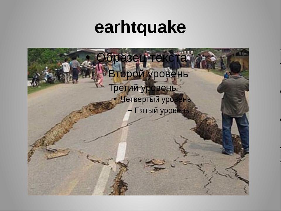 earhtquake