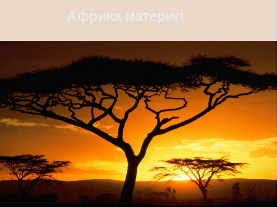 Африка материгі