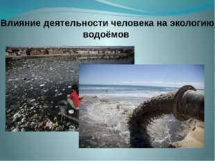 Влияние деятельности человека на экологию водоёмов