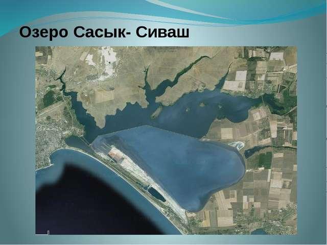 Озеро Сасык- Сиваш