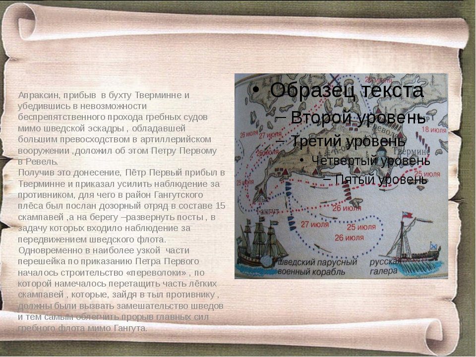 Апраксин, прибыв в бухту Тверминне и убедившись в невозможности беспрепятстве...