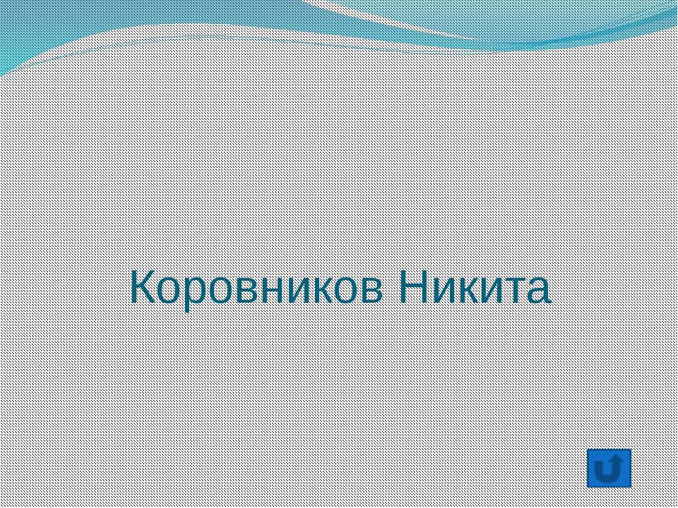Сидоренко Данил
