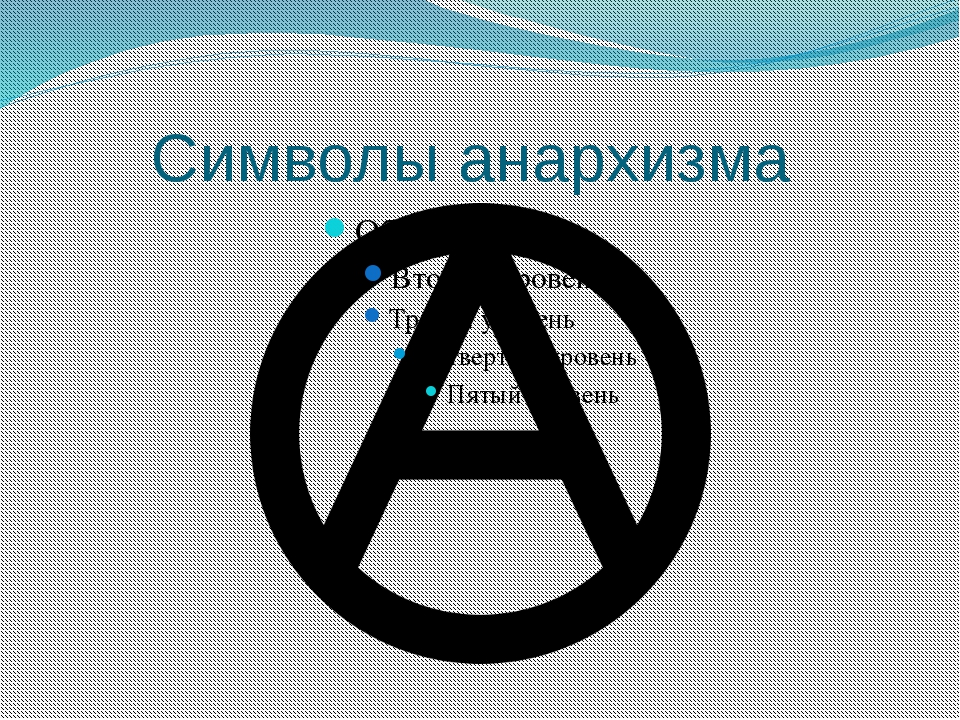Символы анархизма