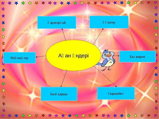 Ақан әндері Құлагер Қараторғай Маңмаңгер Балқадиша Сырымбет Екі жирен