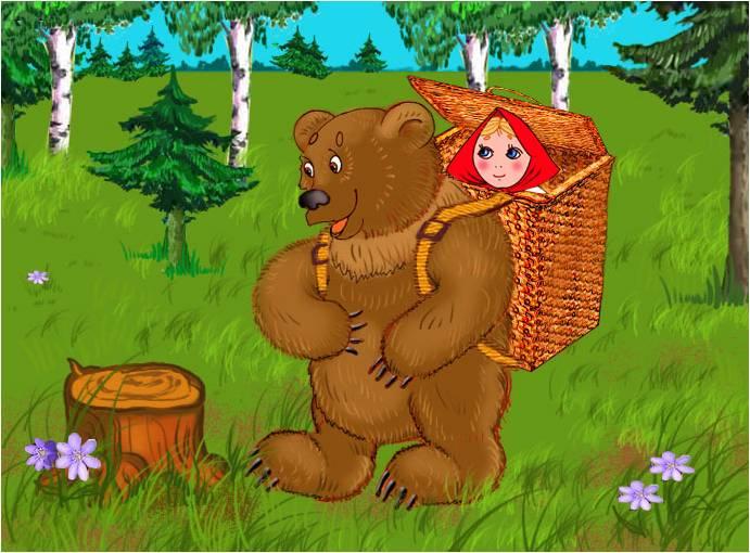 Маша и медведь русская народная сказка презентация - современная презентация