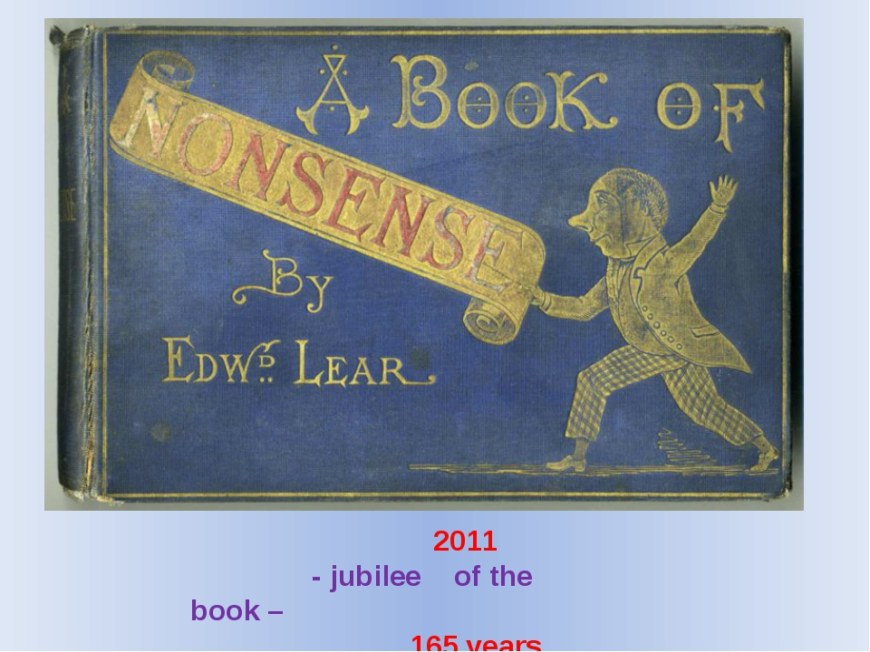 2011 - jubilee of the book – 165 years