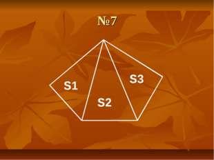 №7 S1 S2 S3