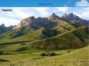 Западный Тянь-Шань Жабагылы Сайрам Каратау ТаласскийАлатау горыЖабагылы.Высот
