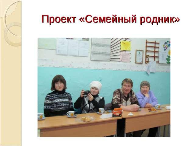 Проект «Семейный родник»