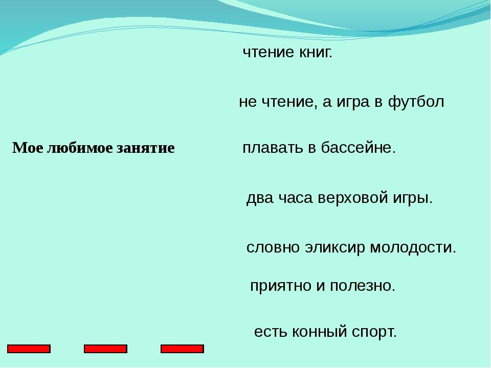 Проверим себя 1. С детских лет путешествия – моя заветная мечта. 2. Грузинск...