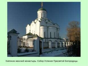 Княгинин женский монастырь. Собор Успения Пресвятой Богородицы.