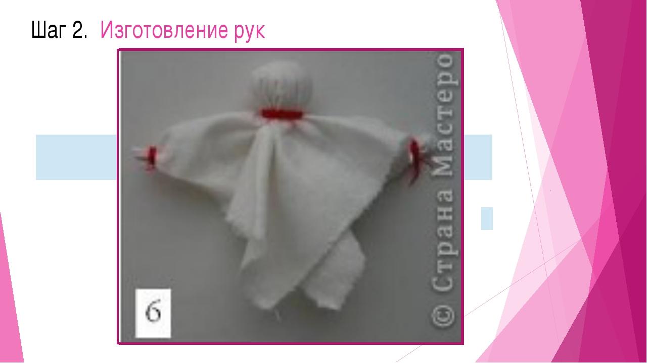 Шаг 2. Изготовление рук