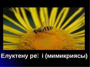 Елуктену реңі (мимикриясы)