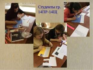 Студенты гр. 14ПР-14Щ