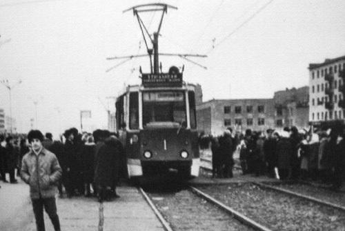 Когда в Челнах пустили первый трамвай. Новости г. Набережные Челны.