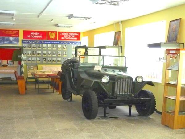 Музей истории и боевой славы автомобильных войск