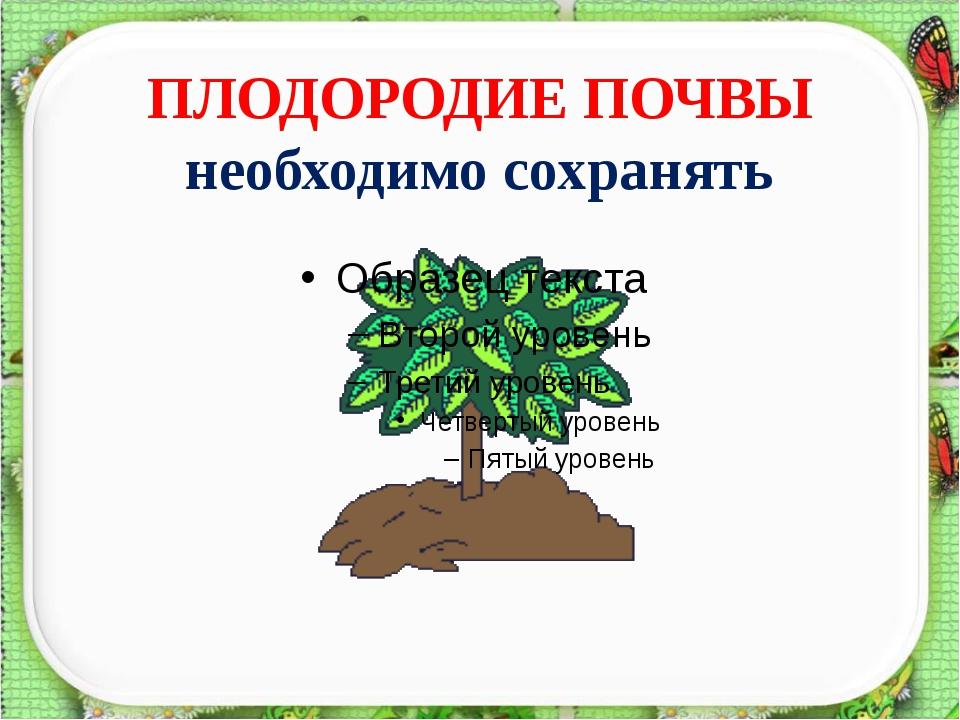 Проверь себя Верхний слой земли, в котором живут растения, животные и микроор...