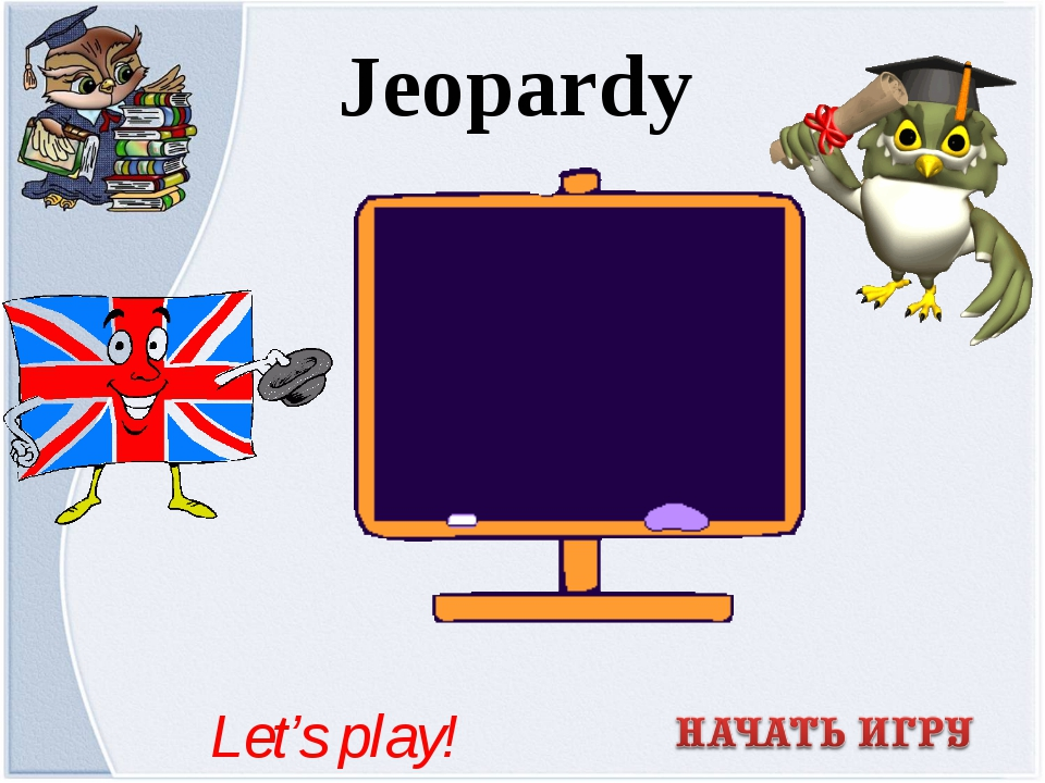 Jeopardy Let's play!