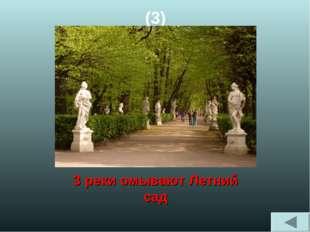 (3) 3 реки омывают Летний сад