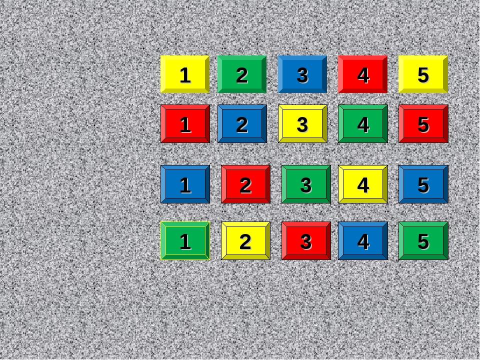 1 1 1 1 2 2 2 2 3 3 3 3 4 4 4 4 5 5 5 5