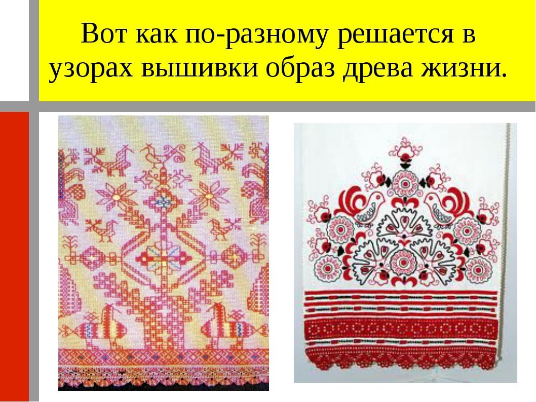 Изо 5 класс русская народная вышивка картинки 14