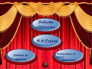 Николай Васильевич Гоголь Повесть «Шинель» 2014 Автор: Абдулкадырова Айгуль И
