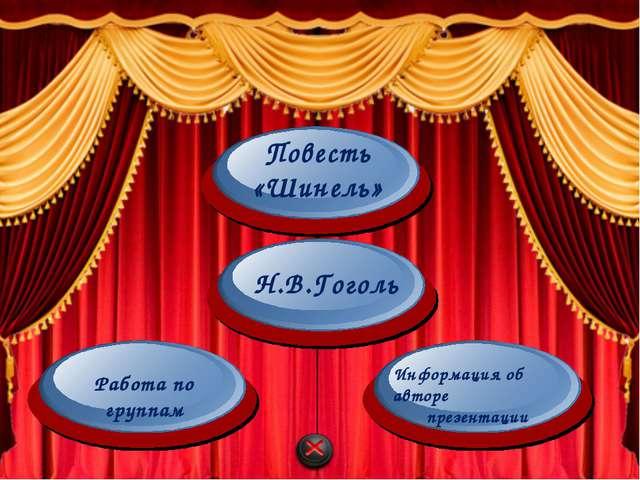 Николай Васильевич Гоголь Повесть «Шинель» 2014 Автор: Абдулкадырова Айгуль И...