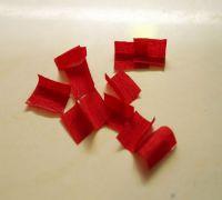 поделки из гофрированной бумаги торцевание11