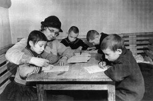Дети и блокада