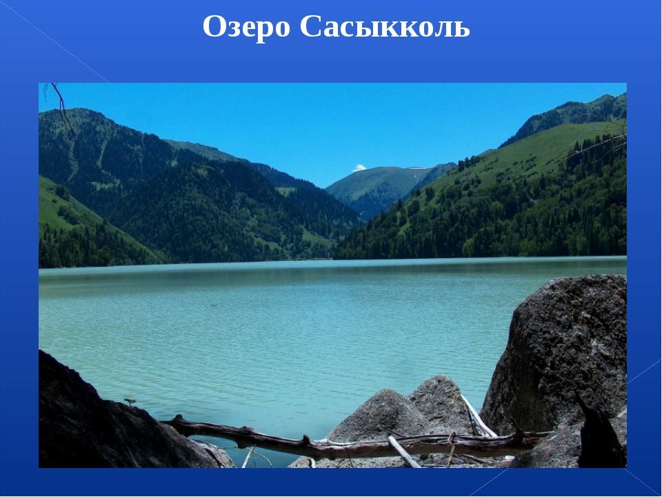 Озеро Сасыкколь