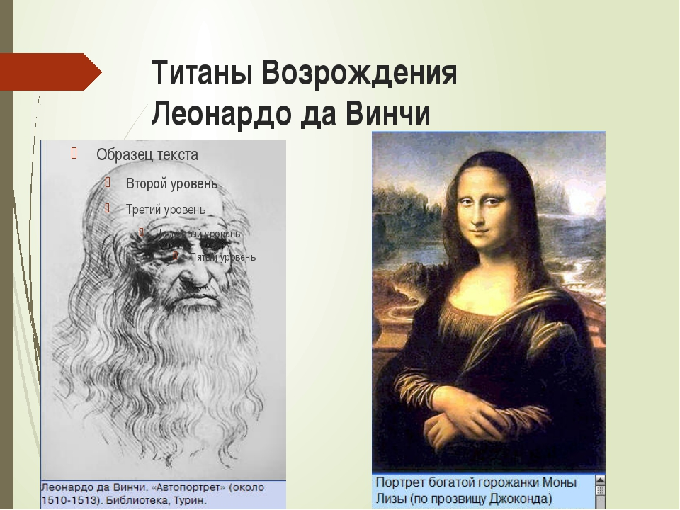 Титаны Возрождения Леонардо да Винчи